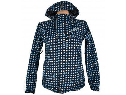 Lyžařská dámská modrá bunda s kapucí Horsefeathers S