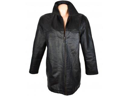 KOŽENÁ dámská černá měkká bunda Woodpecker XL
