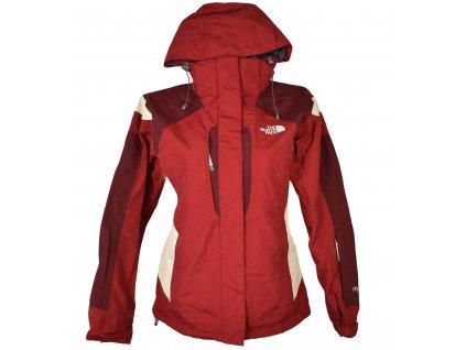 Lyžařská dámská vínová bunda s kapucí The North Face S