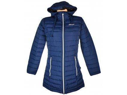 Dámský modrý prošívaný kabát Altisport 38