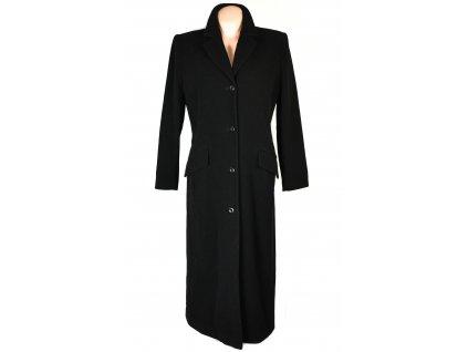 Vlněný (70%) dámský dlouhý černý kabát Best Connection (vlna, kašmír) XL