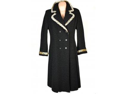 Vlněný (80%) dámský šedý kabát Odema 38