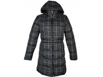 Dámský prošívaný černý kabát s kapucí Alpine Pro L