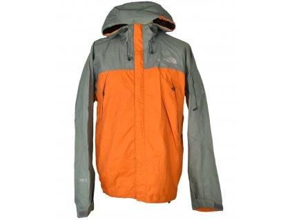 Pánská oranžová bunda s kapucí THE NORTH FACE XL