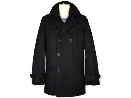 Pánský černý kabát Reserved M/50