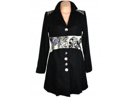 Bavlněný dámský černý kabát St. Martins 38