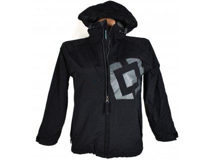 Sportovní černá bunda s kapucí Horsefeathers