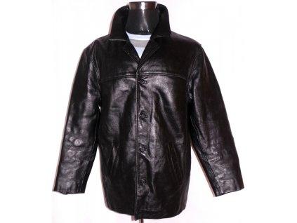 KOŽENÁ pánská černá zateplená bunda EASY PREMIUM L