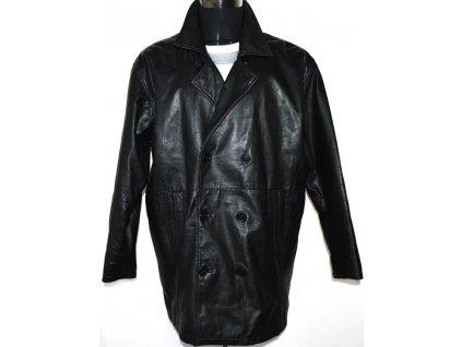 KOŽENÝ pánský černý kabát GAVIN BROWN XL