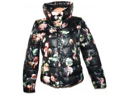Dámská květovaná bunda na zip AMISU