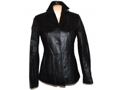 KOŽENÉ dámské černé měkké sako ROY/Rene L