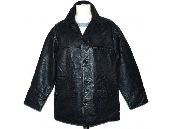 KOŽENÁ pánská černá bunda MATINEE L