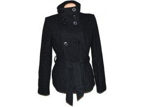 Vlněný dámský šedý kabát s páskem Vero Moda XL