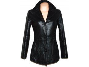 KOŽENÝ dámský černý měkký kabátek Wilsons Leather S