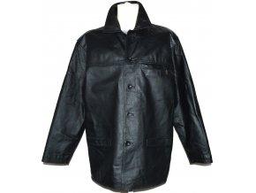 KOŽENÁ pánská černá bunda CERO L 6