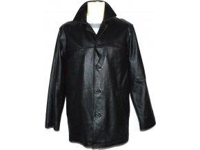 KOŽENÁ pánská černá měkká bunda Milan Leather S