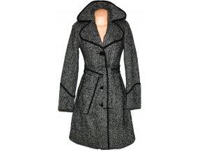 Vlněný dámský kabát s páskem Orsay 36