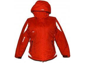 Lyžařská dámská červená bunda s kapucí Loap M