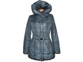 Dámský šusťákový kabát s páskem a límcem ORSAY 42 2