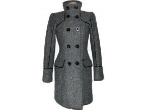 Vlněný dámský melírovaný kabát EDC
