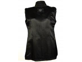 KOŽENÝ dámský černý měkký kabát William & Delvin XXL 3
