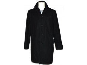 Vlněný pánský černý kabát BURTON L