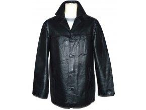 KOŽENÁ pánská černá bunda Capepoint L