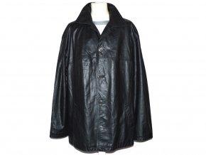 KOŽENÁ pánská černá měkká bunda XL/XXL