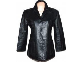 KOŽENÝ dámský černý měkký kabátek Jake*s L