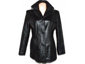 KOŽENÝ dámský černý měkký kabát Wilsons Leather