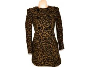 Dámský leopardí kabát ZARA S