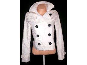 Bavlněný dámský smetanový kabátek H&M