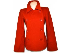 Dámský oranžový kabát H&M L