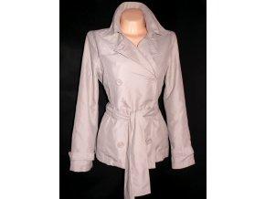 Dámský béžový kabát PAPAYA L