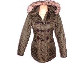 Dámský šusťákový kabát na zip, vidlice NEW LOOK S
