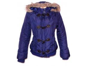 Dámská modrá bunda na zip,vidlice GEORGE