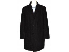 Vlněný pánský hnědý kabát C&A - Canda 54