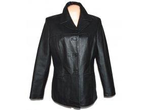 KOŽENÉ dámské černé měkké sako CERO