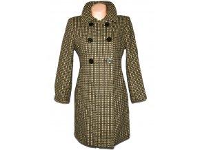 Dámský zelený kabát se vzorem Principles L