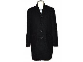 Vlněný pánský černý kabát NEW LOOK L