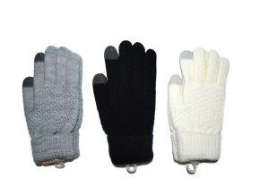 Dámské dotykové rukavice - více barev