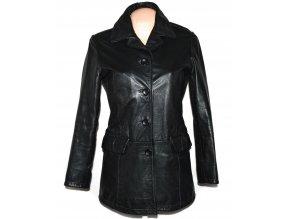 KOŽENÝ dámský černý kabát BJacket M