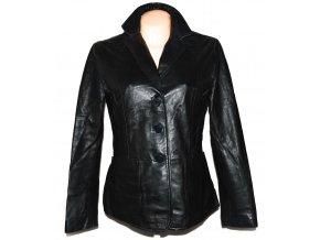 KOŽENÉ dámské černé sako JR L