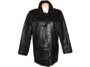KOŽENÁ dámská černá měkká bunda MILAN LEATHER XL