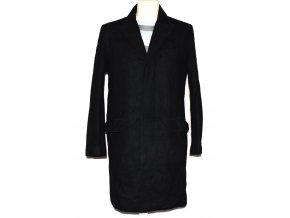 Vlněný pánský černý kabát BURTON M