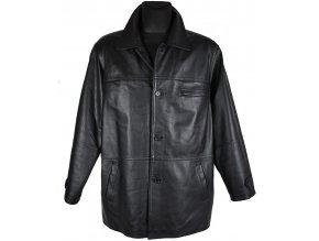 KOŽENÁ pánská černá bunda s vložkou CERO L
