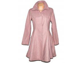 Vlněný dámský starorůžový kabát ASOS M