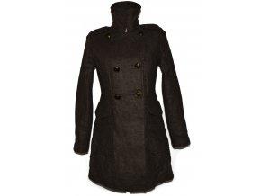 Vlněný dámský hnědý kabát GAP S