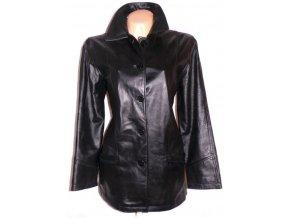 KOŽENÁ dámská černá měkká bunda Milan Leather XXXL