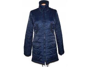 Dámský modrý šusťákový kabát na zip Fishbone M